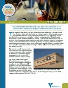 Dysart Unified School District: How One School District Used