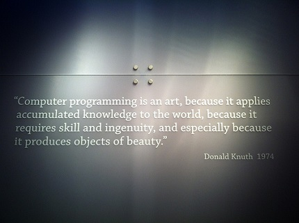 Computer programming quote via Sebastian Bergmann on Flickr