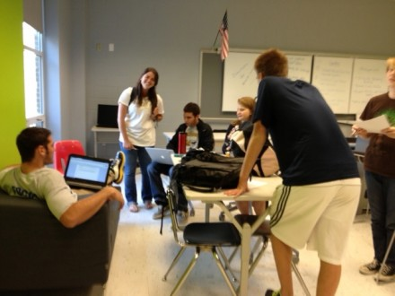 Journalism in HackerSpace at Monticello High