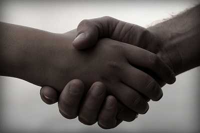 Handshake via Nomadic Lass on Flickr