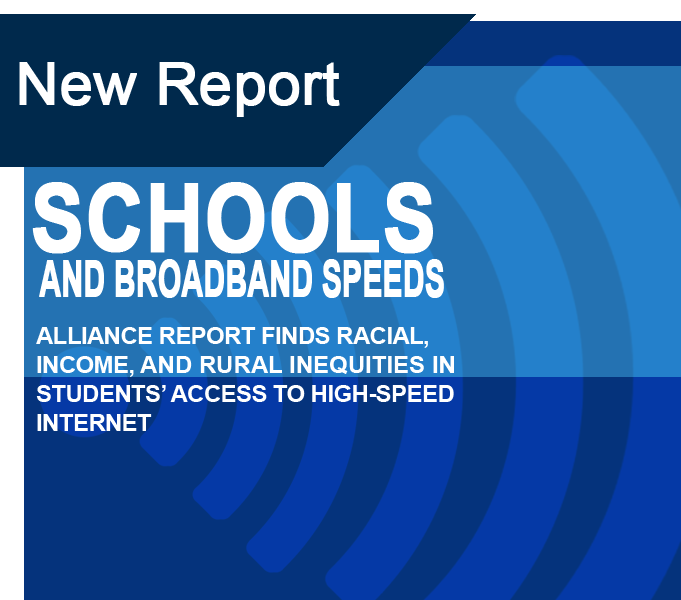 Schools and Broadband Speeds