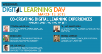 Digital Learning Day Webinar March 5, 2015
