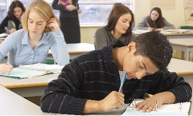 Students Testing