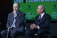 Ron Thorpe and Bob Wise at Digital Learning Day 2015