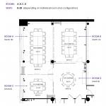 Floor Plan A + B + C + D INDIVIDUAL ROOMS