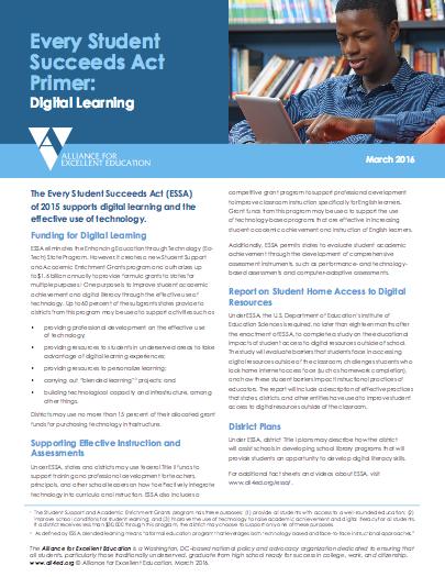 ESSA Digital Learning