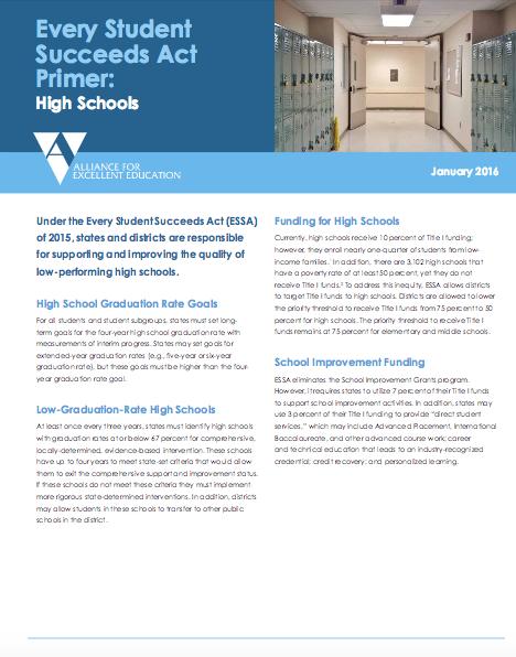 ESSA Highschools