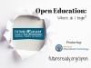 Open Education- Where do I begin