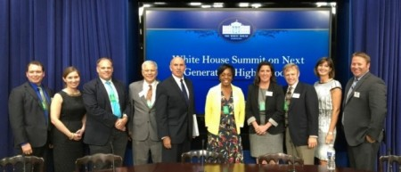 Alliance for Excellent Education staff at the Second Annual White House Summit on Next-Generation High Schools