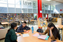 Skyline High School in Oakland, California. (photo by Allison Shelley/The Verbatim Agency for the Alliance for Excellent Education)