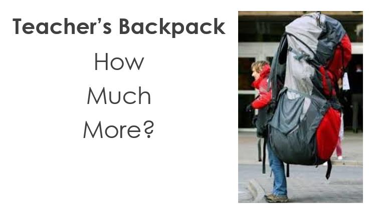 teacher backpackslide